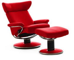stressless paloma chilli red leather by ekornes stressless