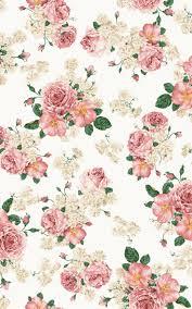 Shabby Chic Pink Wallpaper by Amour Et Rose アブストラクトとプリント ゚ Pinterest