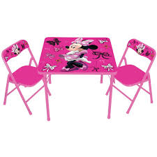 Childrens Garden Chair Showtime Childrens Folding Table And Chair Set Multicolor Great