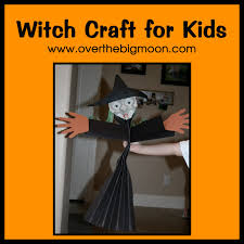 Halloween Witch Craft Ideas by Witch Craft For Kids Tutorial Over The Big Moon