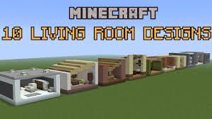 Best Living Room Designs 2016 10 Minecraft Living Room Designs Youtube