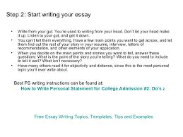 good college application essays   Template