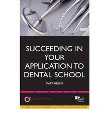 dental school application essay Dental School Personal Statement