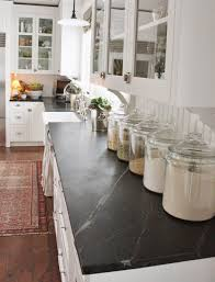Clear Canisters Kitchen Anderson Grant Decorating With Glass Canisters In The Kitchen