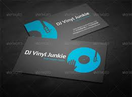 Business Card Eps Template 21 Dj Business Cards Free Download Free U0026 Premium Templates