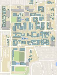 Map Of University Of Michigan by Campus Maps Caltech