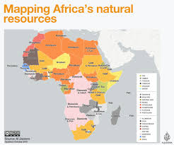 Show Me A Map Of The Middle East by Mapping Africa U0027s Natural Resources Al Jazeera