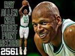 Ray Allen NBA All-Time 3pts