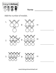 Addition Worksheets Pdf Olympics Math Worksheet Free Kindergarten Math Worksheet For Kids
