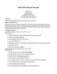 resume objective customer service examples bank job resume objective free resume example and writing download sample resume objectives for banking shopgrat intended for bank teller resume objective 3610