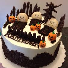 Fun Halloween Cakes Mandy U0027s Baking Journey Black Forest Halloween Cake