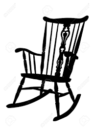 Antique Rocking Chair Prices 1 045 Rocking Chair Stock Vector Illustration And Royalty Free