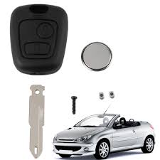type of battery for lexus key fob online buy wholesale remote key case peugeot from china remote key
