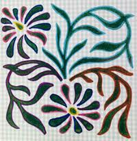 Indian Flower Design Flower Designs Textile Art Block Printing Block Printing