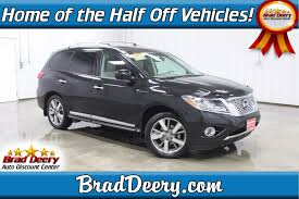 nissan pathfinder platinum 2015 used nissan for sale brad deery motors
