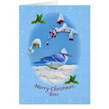 boss christmas cards zazzle