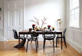 dining room scandinavian dining room with victorian riff and