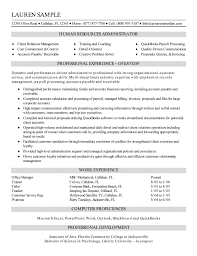 Human Resources Manager Resume  hr manager resume  employee     soymujer co