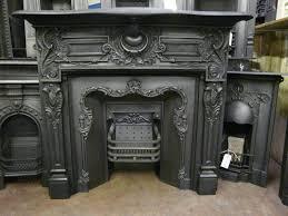 antique metal fireplace surround fireplace pinterest antique