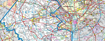 Vegas Monorail Map Map Of Fairfax Virginia Virginia Map