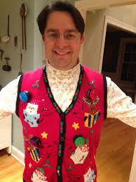 the ugly christmas sweater party and the jew what the flicka