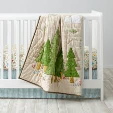 Gender Neutral Nursery Bedding Sets by Neutral Crib Bedding The Land Of Nod