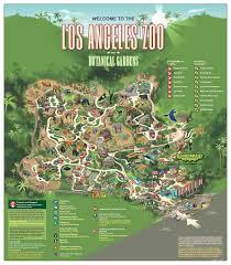 Grand Park Los Angeles Map by La Zoo Botanical Gardens Map Cali Pinterest Zoos Los