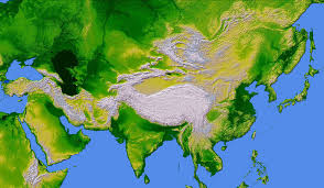 Map Of Asia by Asia Largest