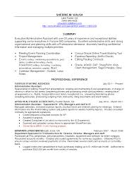 Executive Administrative Assistant Resume Examples  ceo resumes     Sample Resumes Of Executive Assistants   Formal Letter Format N Level   executive administrative assistant resume