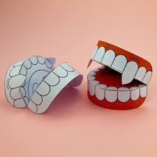 halloween arts and crafts ideas simple 3d halloween vampire teeth activity paper craft download