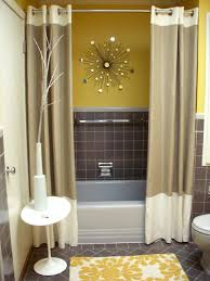 stylish bathroom tile ideas on a budget with fabric covered vanity