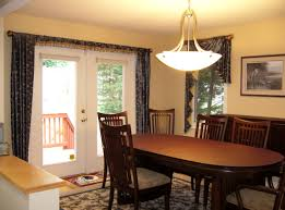 dining room luxury sparkling dining room light fixture combined