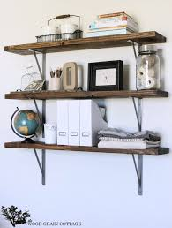 Building Wood Shelves For Storage by Farmhouse Flair Diy Wood Storage Shelf How To