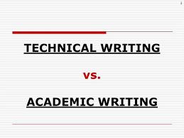 Technical Writing Vs Academic Writing  authorSTREAM authorSTREAM