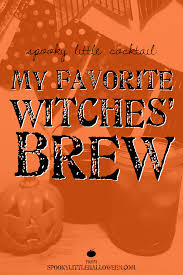 spooky little cocktail my favorite witches u0027 brew spooky little