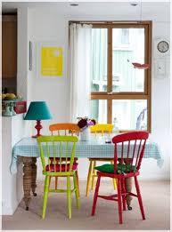 decorar con sillas de colores colors large and chairs