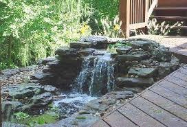 EcoScape Groundskeeping Great Backyard Landscaping Ideas - Backyard river design