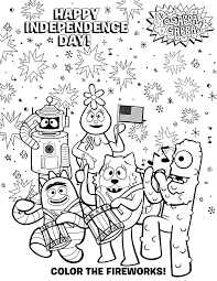 yo gabba gabba coloring pages getcoloringpages com
