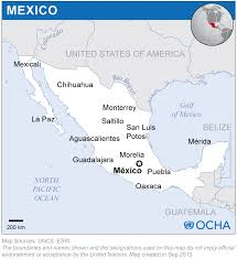 San Luis Potosi Mexico Map by Mexico Location Map 2013 Mexico Reliefweb