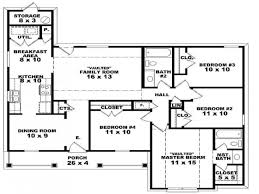Floor Plan House 3 Bedroom 3 Bedroom House Plans Single Story Traditionz Us Traditionz Us