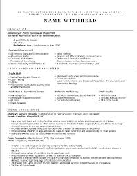 resume examples for job advertising resume example sample marketing resumes related free resume examples