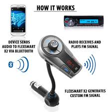 home theater bluetooth transmitter accessory power gogroove flexsmart x2 advanced wireless in car