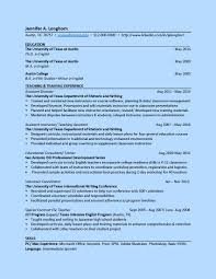 samples of resumes for highschool students ut college of liberal arts gradresume