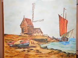 peinture de bord de mer mesregards