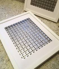radiator screen from home depot projects diy pinterest