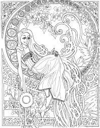 disney princess coloring book pdf page 1 coloring pages