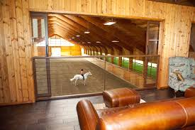 Barn Floor Plans With Loft Amazing Indoor Arena With Observation Lounge Circle B Ranch