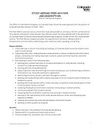 academic advisor resume sample sample for overseas job frizzigame resume sample for overseas job frizzigame