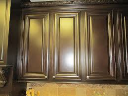 Dark Stained Kitchen Cabinets The Process Of Staining Kitchen Cabinets U2014 Decor Trends