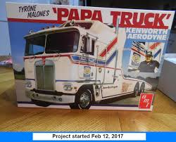 kenworth models list kenworth amt 1 25th u201cpapa truck u201d race truck hauler u2013 ipms model talk